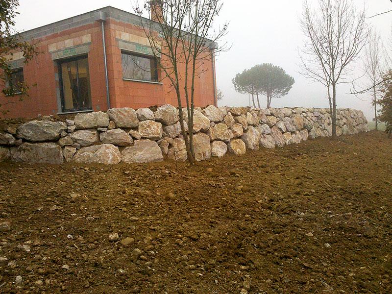 amenagement exterieur rochers arbres