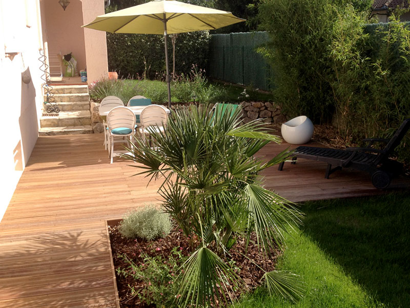 Arbor o paysagiste cr ation am nagement de jardin toulouse - Terras amenagee ...