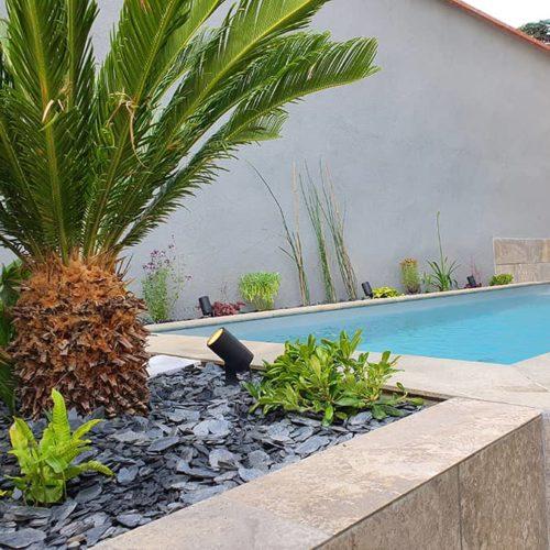 Aménagement d'un tour de piscine à Toulouse